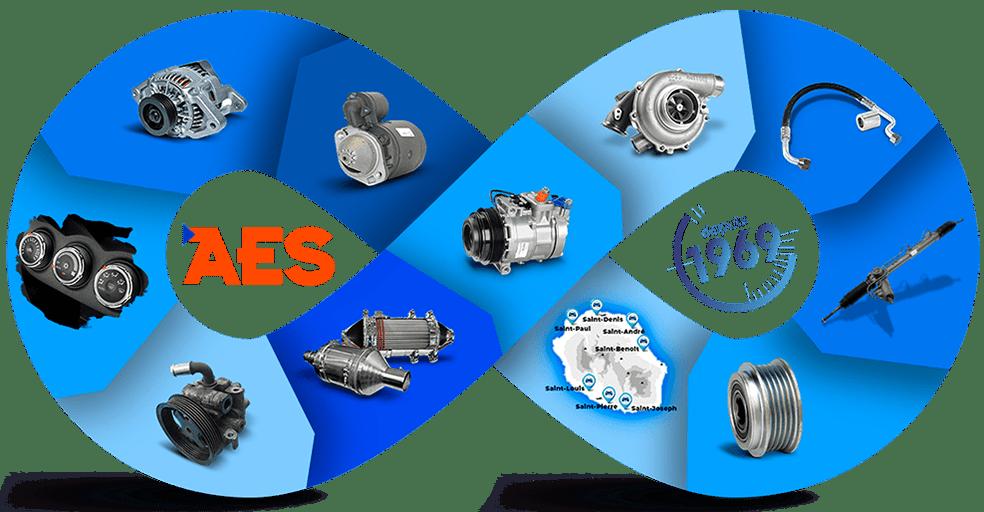 AES - Électricité auto Réunion
